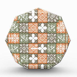 Floral Brick Pattern Award