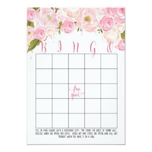 Bridal Shower Bingo Invitations & Announcements | Zazzle