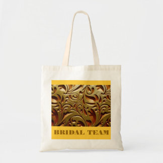 FLORAL BRIDAL TOTE BAG