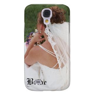 Floral Bride Wedding 3g  Samsung Galaxy S4 Cover
