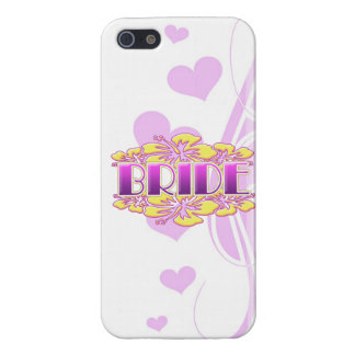 floral bride  wedding shower bridal party fun case for iPhone 5
