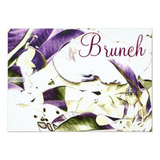 "Floral Brunch Invitation 5"" X 7"" Invitation Card"