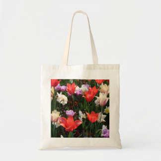 Floral Budget Tote Budget Tote Bag