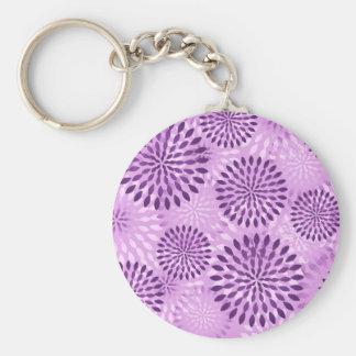 Floral Burst Keychain
