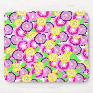 Floral Burst Mouse Pad