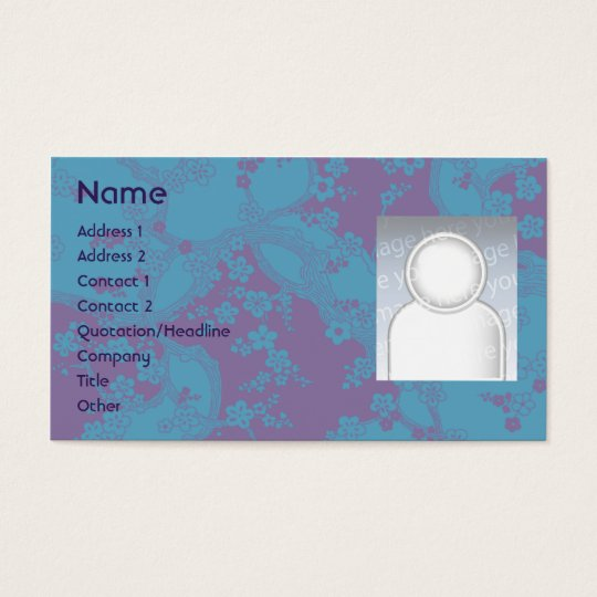 Floral - Business Business Card