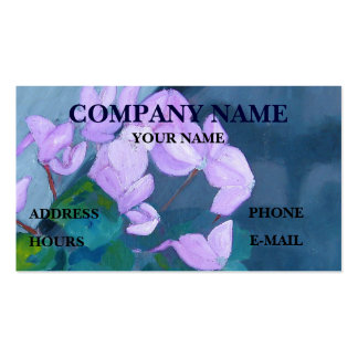 FLORAL - BUSINESS CARD
