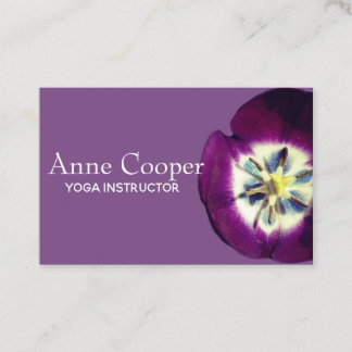 Floral Business Card, Size, Custom text Business Card