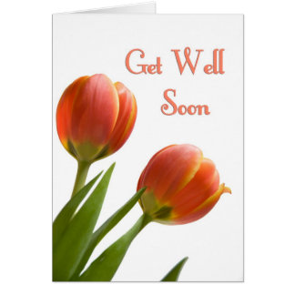 Floral Business Get Well Soon from Group Card