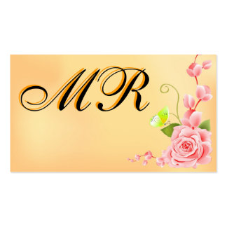 Floral Businesscard Business Cards