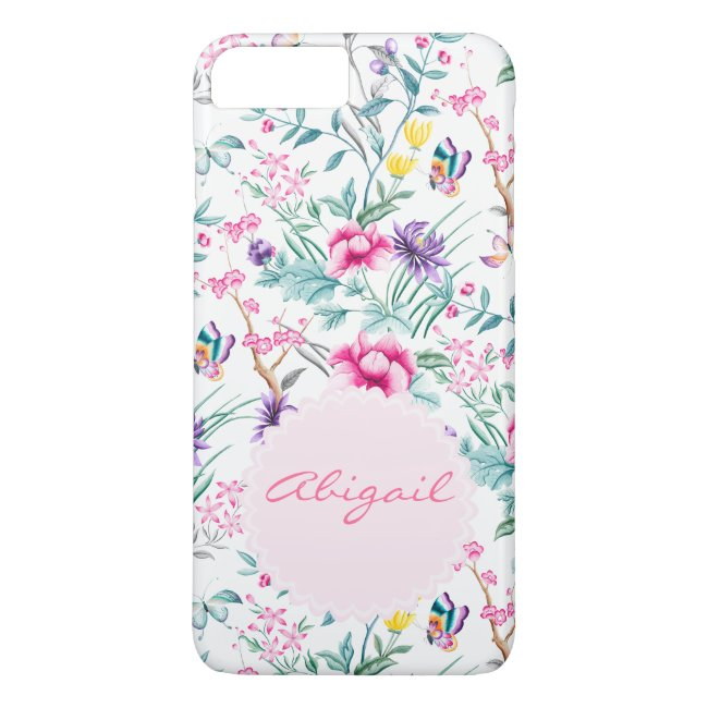 Floral & Butterflies Chinoiserie Phone Case