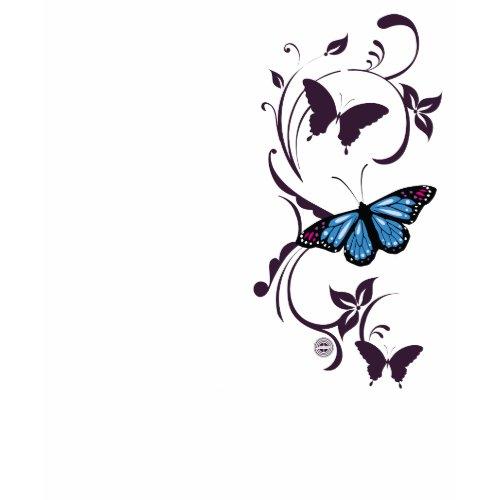 Floral Butterflies Shirt