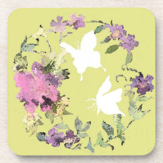 Floral Butterfly Coaster
