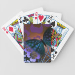 Floral Butterfly Deck Of Cards