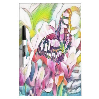 floral butterfly Dry-Erase board