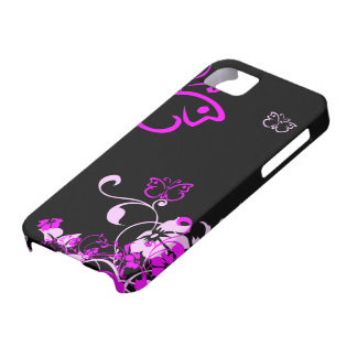 Floral Butterfly iPhone 5 Case