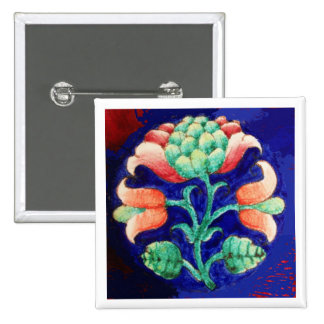 FLORAL PINBACK BUTTONS