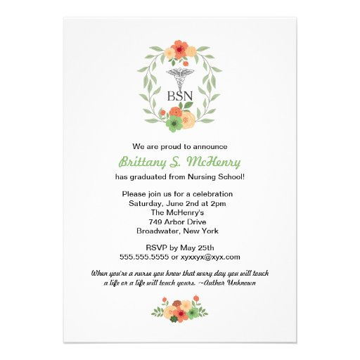 109 Pinning Ceremony Invitations Pinning Ceremony Announcements Amp Invites