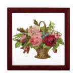 Floral Caja De Regalo