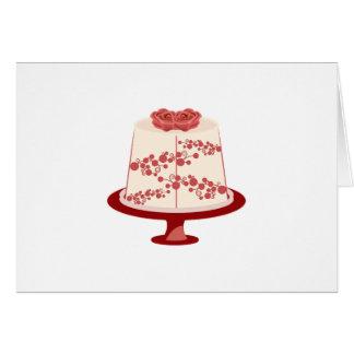 Floral Cake Card