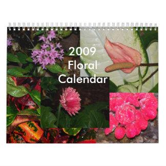 Floral Calendar 2009
