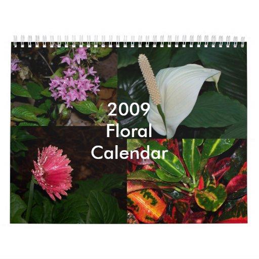 Floral Calendar 2009 - Customized