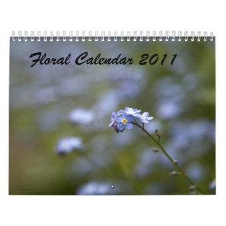 Floral Calendar 2011