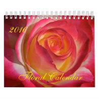 Floral Calendar 2016