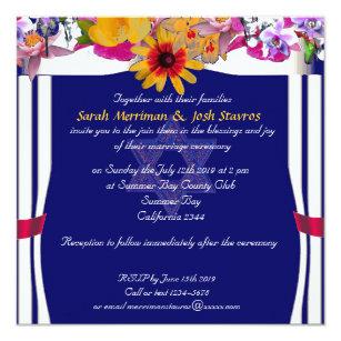 Jewish wedding invitations zazzle floral canopy jewish wedding invitation m4hsunfo