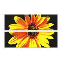 floral wrappedcanvas