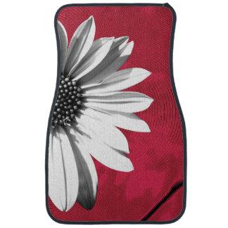 floral car mat