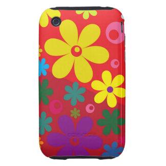 Floral iPhone 3 Tough Case