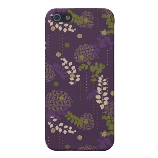 Floral Case For iPhone SE/5/5s