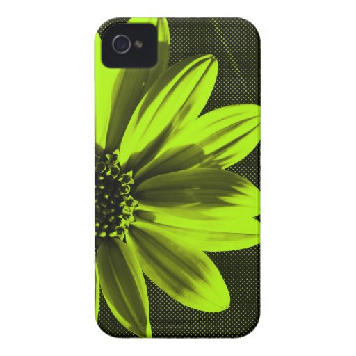 floral Case-Mate iPhone 4 cárcasa