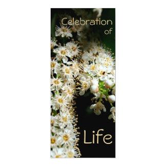 Floral Celebration of Life 2 - Invitation