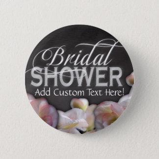 Floral & Chalkboard Bridal Shower Button