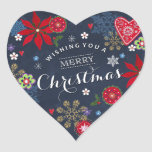 """Floral Chalkboard Christmas 