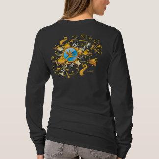 Floral Chaos Crest 1 T-Shirt