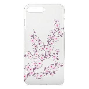 5601341d43 Floral Cherry Blossoms Clear iPhone 8 Plus/7 Plus Case