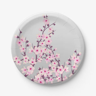 Japanese Cherry Blossom Party Supplies Zazzle