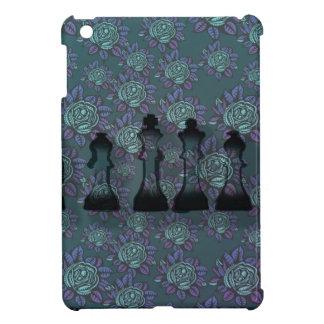 Floral Chess iPad Mini Case