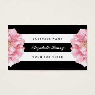 Floral Chic Business Cards