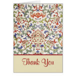Floral chinese ornament Card