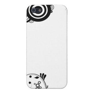 floral circle iPhone 5/5S covers