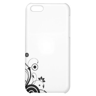 floral circle iPhone 5C cases