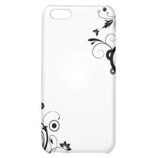 floral circle iPhone 5C cover