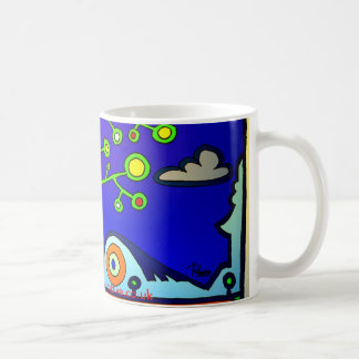 Floral city mug
