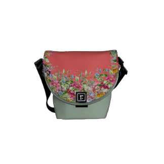 Floral Classic Courier Bags
