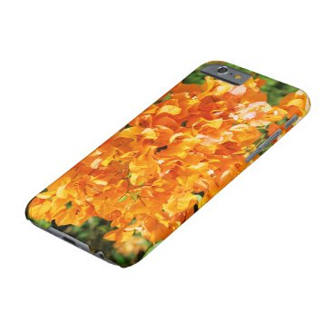 anakondasp floral collection. orange barely there iPhone 6 case