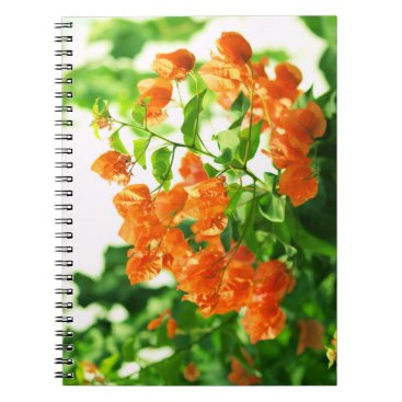 anakondasp floral collection spiral notebook